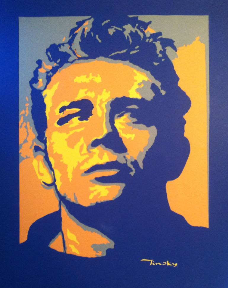 James Dean 24x19 inches