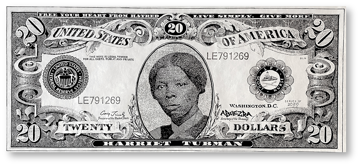 Tubman Twenty Graphic